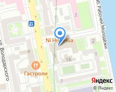 Компания АСТРА на карте города