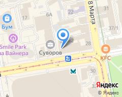 Компания Технология света-Екатеринбург на карте города