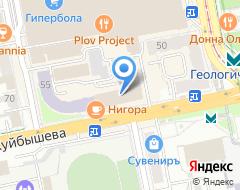 Компания Проф-лайн на карте города