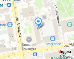 Компания УКБ на карте города