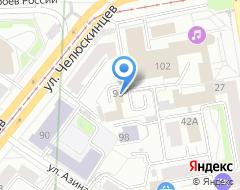 Компания Банкомат Банк Москвы Екатеринбургский филиал на карте города
