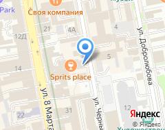 Компания Глобус на карте города