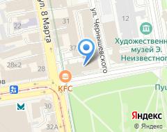 Компания Aviasales.ru на карте города