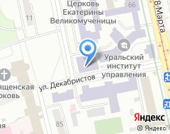 Компания ЕЭТК на карте города