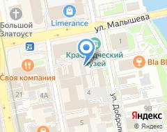 Компания Бизнес Эдвайзер на карте города