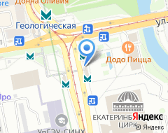 Компания Банкомат КРЕДИТ ЕВРОПА БАНК на карте города