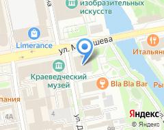 Компания БИЛЬЯРДНЫЙ САЛОН на карте города