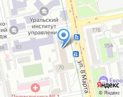 Компания Протекс-Отель на карте города