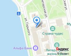 Компания БЕТА на карте города