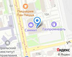 Компания Альфа-трейд на карте города