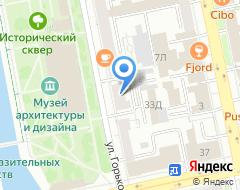 Компания Группа независимых адвокатов на карте города