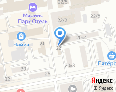 Компания Золотая середина на карте города