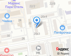 Компания УралПереводСервис на карте города