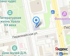 Компания УКНиУ на карте города