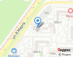 Компания Банкомат АКБ СОЮЗ на карте города