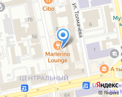 Компания Урал паблисити монитор на карте города