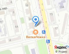 Компания Евангелиста на карте города