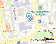 Компания Профтехнострой на карте города