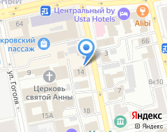 Компания Престиж на карте города