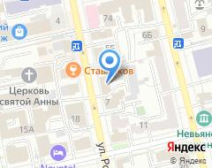 Компания Anex Shop на карте города