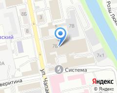 Компания Тродат Екатеринбург на карте города
