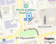 Компания Детская художественная школа №1 им. П.П. Чистякова на карте города