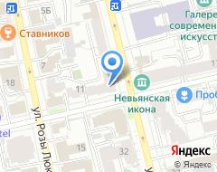 Компания ХАНТЫ-МАНСИЙСКИЙ БАНК на карте города