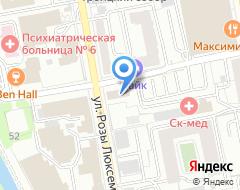 Компания Rouge на карте города