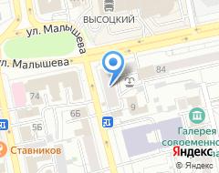 Компания Non solo Danza на карте города