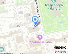 Компания УНИИМ на карте города