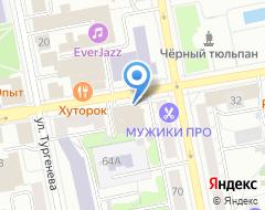 Компания Атлас-тур на карте города