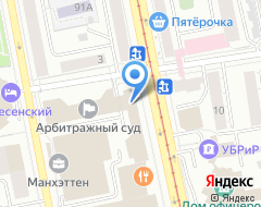 Компания Сатурн-Авто на карте города