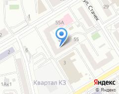 Компания Урал-Драйв на карте города