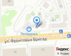 Компания УралАтлет на карте города