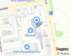 Компания УрГСХА на карте города
