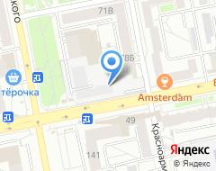 Компания Заочник66 на карте города