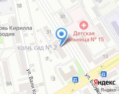 Компания ЗдравиС на карте города