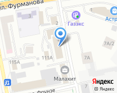 Компания Урал-Кадры на карте города