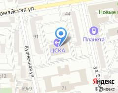 Компания Спортивный центр армии Приволжско-Уральского военного округа на карте города