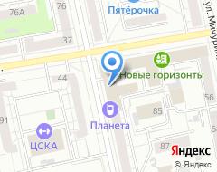 Компания Новый Уральский строитель на карте города