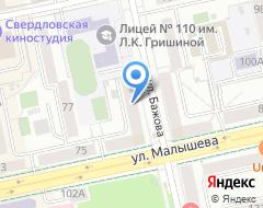 Компания ГЛОБУС СПОРТ на карте города