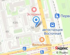 Компания Финнэкс-тур на карте города
