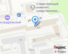 Компания Клифф-Маркет на карте города
