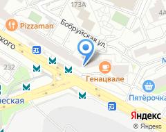 Компания Банкомат ФКБ ЮНИАСТРУМ БАНК на карте города
