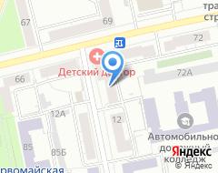 Компания УралПолит.ру на карте города