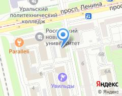 Компания СМАРТ МЕДИА рекламное агентство на карте города
