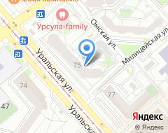 Компания Райффайзенбанк Екатеринбургский филиал на карте города
