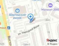 Компания Визитка на карте города