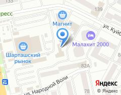 Компания 2колеса66 на карте города