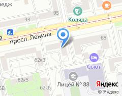 Компания КРЕДИТ ЕВРОПА БАНК на карте города